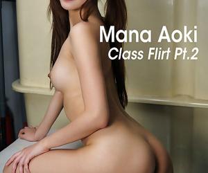 Mana aoki class flirt pt2 蒼木マナ - part 3472