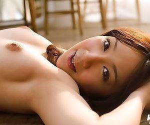 Asian idol ryo akanishi poses in bikini shows tits - part 694