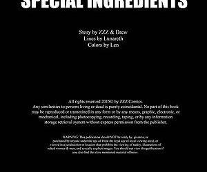 ZZZ- Special Ingredients