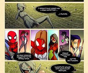 Violation of Spider Women- Tracy Scops