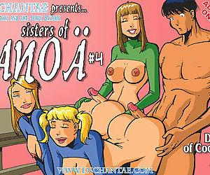 Enchantae- Sisters of Anoa 3-4,Shemale
