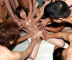 Shy japanese teen yui takahashi gangbanged and bukkaked - part 2398