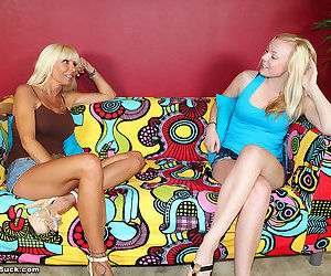 Mom kasey storm and her daughter sharing dick - part 985