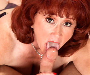 Redhead mature shirley lily sucking and fucking a guy - part 3110