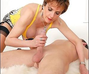 Nasty lady sonia make pain sucking his cock but never letting hi - part 3042