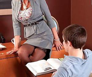 Mature teacher gets fucked in classroom - part 2228