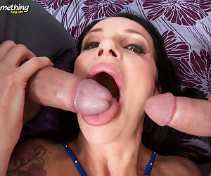 Dick loving euro milf angie noir gets dpd by two big dicked stud - part 2583