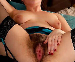 Sharlyn spreads open her sweet hairy pussy - part 2809