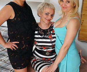 Three naughty housewives make it big - part 3074