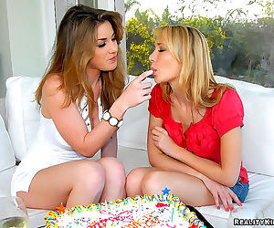 Kate enjoys some hot dripping wet cake in these awesome lesbo pics - part 2607