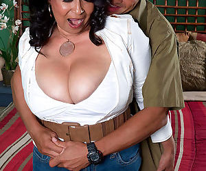 Big titted chubby mom rochelle sweet fucking a thin dude - part 2381