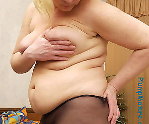 Spying on chubby in her bedroom - part 20