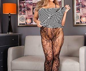 Busty cougar beth bennett naked in black stockings - part 14