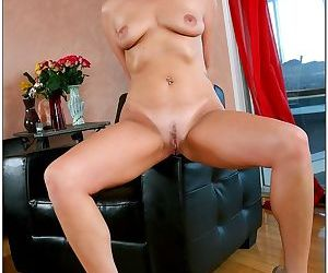 Horny mature blonde seduces the neighbor and rides him hard - part 10