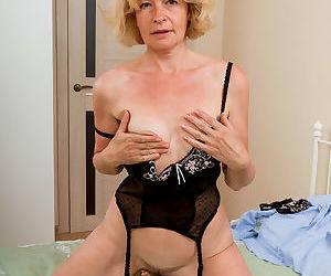 Diana v mature lingerie - part 16