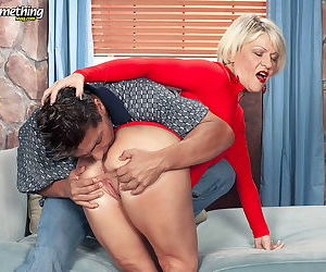 Busty mature lady loves hard cock - part 3