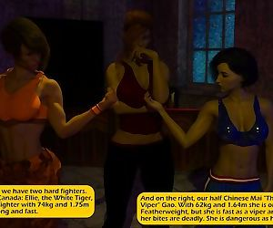 Chaosbirdy- Female Fighting League
