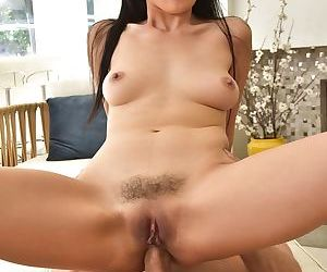 Asian Marica Hase takes in ass after being pussyfucked well by Mick Blue