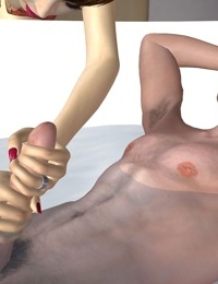 Horny 3d chick finds a sleeping dude - part 264