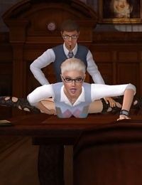 Animated babe fingered and fucked in a library - part 812