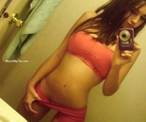Naughty girlfriend shows her big melons - part 4145