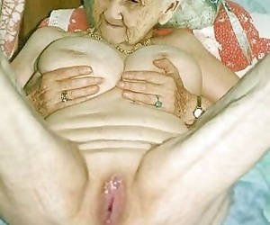Very old grannies showing off their goodies - part 1664