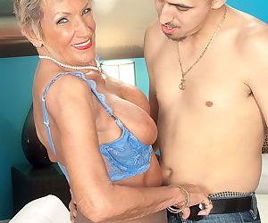 Grandma sandra ann sucking her yonger lover - part 80