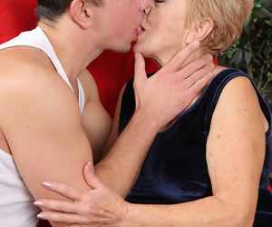 Mature gmilf takes a younger man on for fun - part 1351