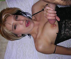Random amateur wives sucking cocks - part 4705