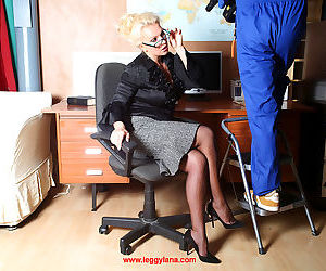 Office slut lana coxy sucking big dick - part 608