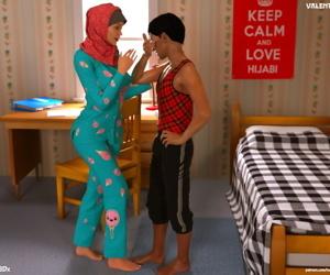 Hijab 3DX- Losekorntrol – Valentine