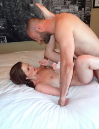 Hot 18 year old virgin is introduced to the wonders of BDSM sex