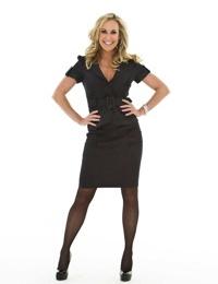 Busty MILF pornstar Brandi Love exhibits her famous big tits in stockings