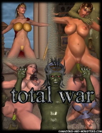 Amazons and Monsters- Total War