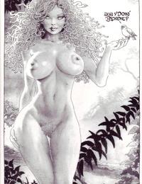 Cavewoman - Jungle Tales 3 / Blonde Medusa