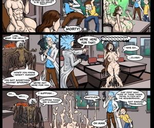 Rick and Morty- Sex Education- Vaiderman