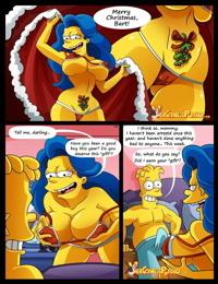 The Simpsons- Milky White Christmas