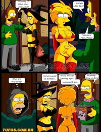 Tufos- Os Simpsons 13 – Halloween Night