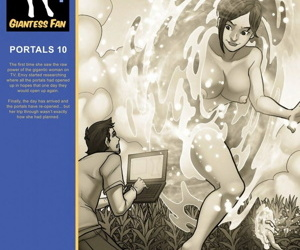 Giantess Fan- GF Portals 10 – Growing Desires