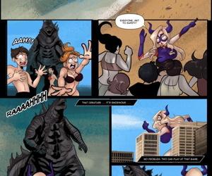 Nyte- Mt. Lady vs Godzilla
