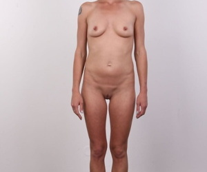 Ugly amateur Denisa reveals her skinny body in dubious hope of porn stardom