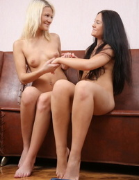 Elegant teens undress and finger pussies - part 4883