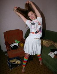 Teenie girlfriends self shot and posing - part 4359