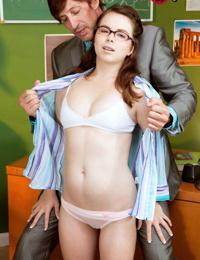 Shy college girl jennifer matthews seducing one of her teacher - part 4548