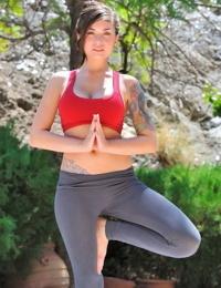 Lyanna hot busty yoga - part 4644