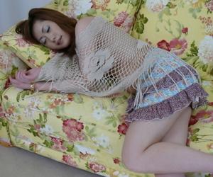Japanese babe Arisa Suzuhusa gets fingered and fucked in hardcore fashion