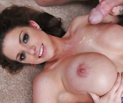 Sexy big tit girlfriend Brooklyn gets hardcore banged in her tight pussy