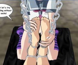 3D Foot Fetish & Bondage Idol in Bondage OREIMO - part 4
