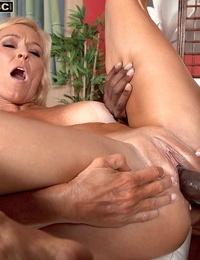 Brittney Snow enjoys to get her taut wet pussy slammed by a black boner