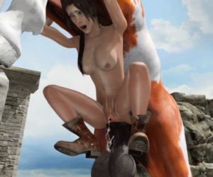 Gif- Horse fucking Lara